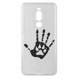 Чехол для Meizu Note 8 Рука волка - FatLine