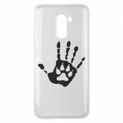 Чехол для Xiaomi Pocophone F1 Рука волка - FatLine