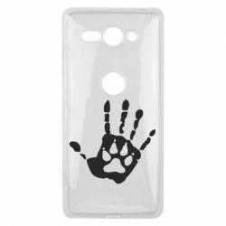 Чехол для Sony Xperia XZ2 Compact Рука волка - FatLine