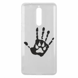 Чехол для Nokia 8 Рука волка - FatLine