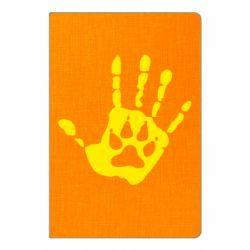 Блокнот А5 Рука волка