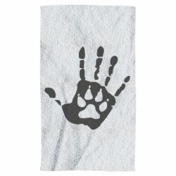 Полотенце Рука волка