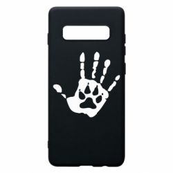 Чехол для Samsung S10+ Рука волка