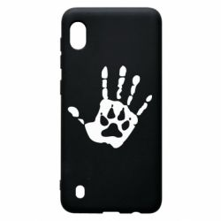 Чехол для Samsung A10 Рука волка
