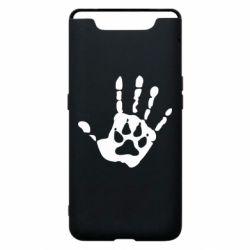 Чехол для Samsung A80 Рука волка