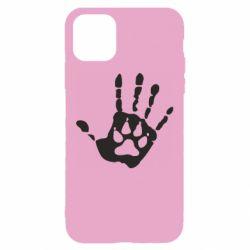 Чехол для iPhone 11 Рука волка