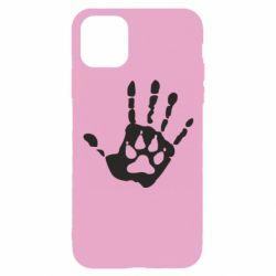Чехол для iPhone 11 Pro Рука волка