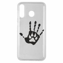 Чехол для Samsung M30 Рука волка