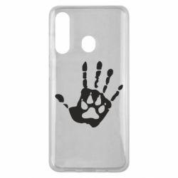 Чехол для Samsung M40 Рука волка