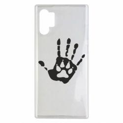 Чехол для Samsung Note 10 Plus Рука волка