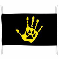 Флаг Рука волка