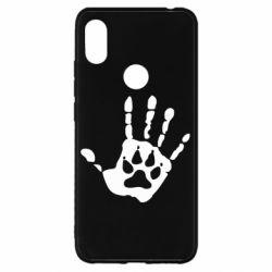 Чехол для Xiaomi Redmi S2 Рука волка