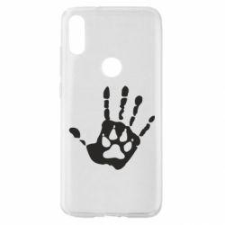 Чехол для Xiaomi Mi Play Рука волка