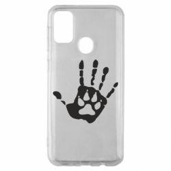 Чехол для Samsung M30s Рука волка