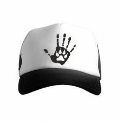 Дитяча кепка-тракер Рука вовка