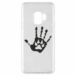 Чехол для Samsung S9 Рука волка