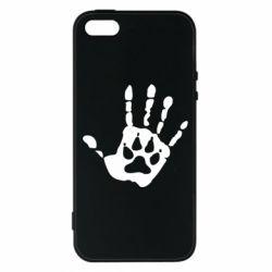 Чехол для iPhone5/5S/SE Рука волка