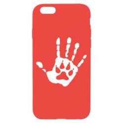 Чехол для iPhone 6/6S Рука волка