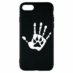 Чехол для iPhone 7 Рука волка