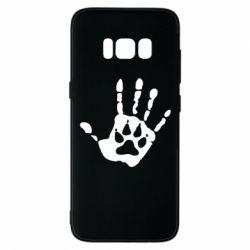 Чехол для Samsung S8 Рука волка