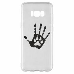 Чехол для Samsung S8+ Рука волка