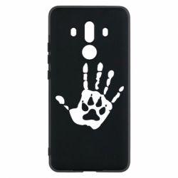 Чехол для Huawei Mate 10 Pro Рука волка - FatLine