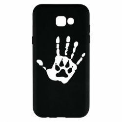 Чохол для Samsung A7 2017 Рука вовка