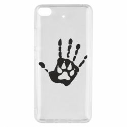 Чехол для Xiaomi Mi 5s Рука волка