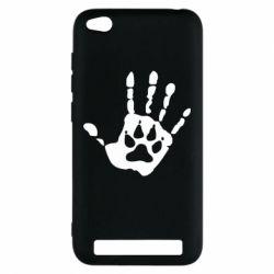 Чехол для Xiaomi Redmi 5a Рука волка - FatLine