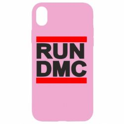 Чехол для iPhone XR RUN DMC
