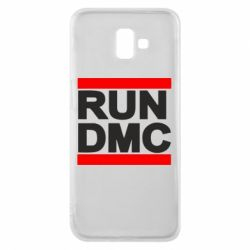 Чехол для Samsung J6 Plus 2018 RUN DMC