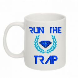 Кружка 320ml Run the Trap Diamond - FatLine