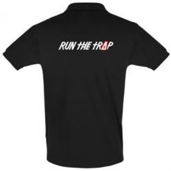 Футболка Поло Run the Trap # - FatLine