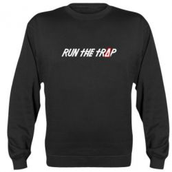 Реглан (свитшот) Run the Trap # - FatLine