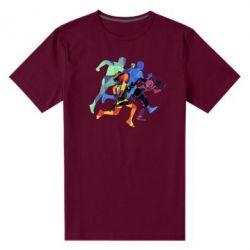 Мужская стрейчевая футболка Run
