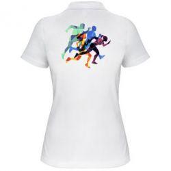 Жіноча футболка поло Run