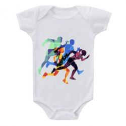 Детский бодик Run
