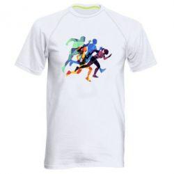 Мужская спортивная футболка Run