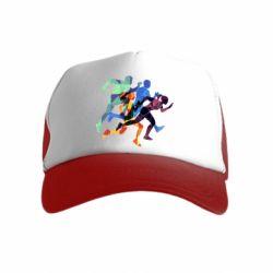 Дитяча кепка-тракер Run