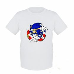 Детская футболка Running sonic