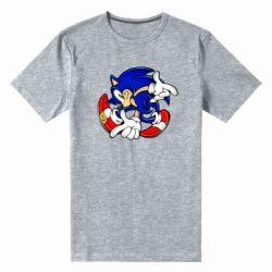 Мужская стрейчевая футболка Running sonic
