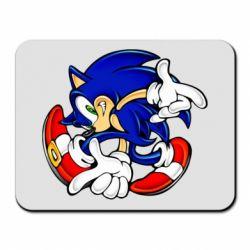 Коврик для мыши Running sonic