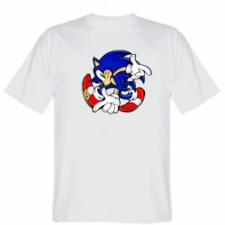 Мужская футболка Running sonic