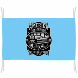 Прапор Runs On Diesel