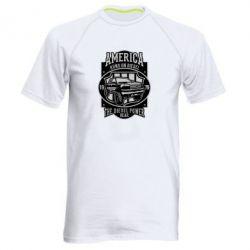 Чоловіча спортивна футболка Runs On Diesel