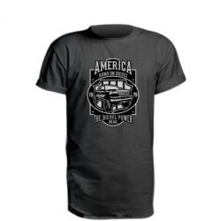 Подовжена футболка Runs On Diesel