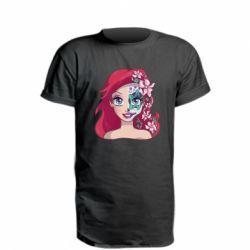 Удлиненная футболка Русалочка Ариэль арт