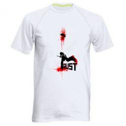 Купить Мужская спортивная футболка Rust shooting, FatLine