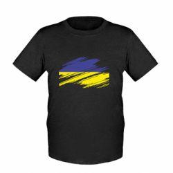 Детская футболка Рваний прапор - FatLine