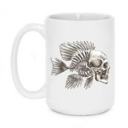 Кружка 420ml Рыба-череп